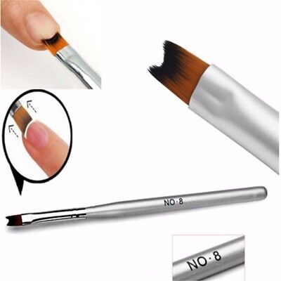 Gel Nails Acrylic Nails - Acrylic UV Gel Polish Nail Art Painting Drawing French Tips Manicure Pen Brush
