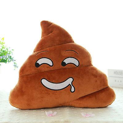 Mini Small Saliva Emoji Emoticon Cushion Poo Shape Pillow Doll Toy Throw Pillow