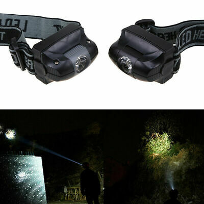 LED Headlight Fishing Camping Outdoor Survival Game Head Lamp Torch Night Light (Outdoor Night Games)