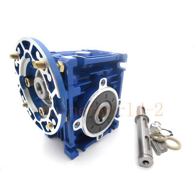 Nmrv030 Worm Gear Reducer 56b14 Speed Ratio 10 15 20 25 30 40 50 60 80 1001