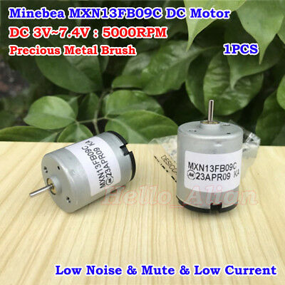 Minebea Mxn13fb09c Motor Dc 3v7.4v 5000rpm Precious Metal Brush Mute Motor Diy