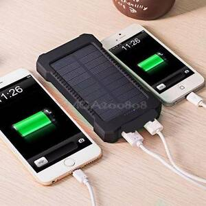 NEW DUAL USB SOLAR POWER BANK 300000MAH powerbank BATTERY CHARGER Noble Park Greater Dandenong Preview