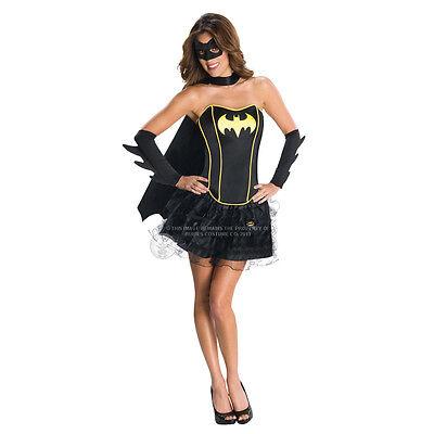 Damen Batgirl Supergirl Wonder Woman Robin Hero Kostüm Kleid ()