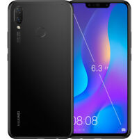 Lost:Black Huawei Phone with cracked screen