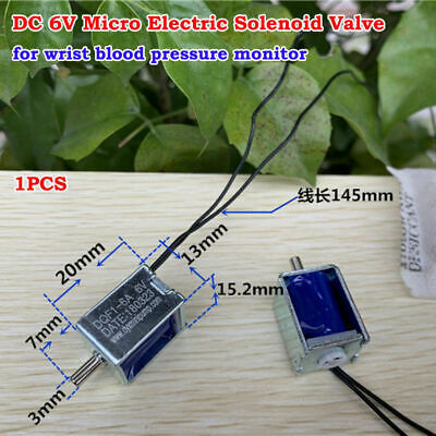 Dc 6v Mini Dc Electric Solenoid Valve Air Gas Valve Blood Pressure Monitor Valve