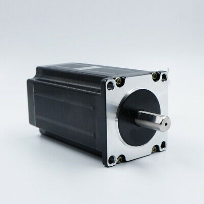 High Torque 3nm 425oz.in Nema 23 57mm Stepper Motor 8mm Shaft Cnc Mill Router