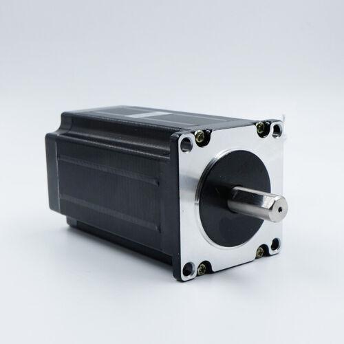 High Torque 3Nm (425oz.in) Nema 23 57mm Stepper Motor 8mm Shaft CNC Mill Router