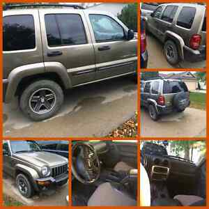2004 Jeep Liberty 4x4 Colombia Edition!