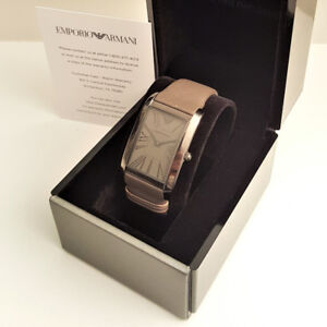 Emporio Armani Men's Watch - Adjustable Leather Band with Clasp