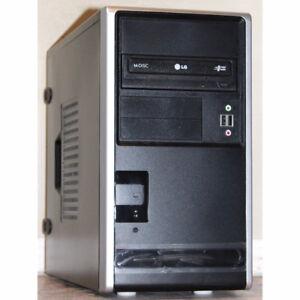 Custom Built Desktop PC Pentium 3GHz 4GB RAM 160GB HDD DVDRW