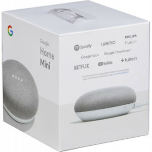 Google Home Mini - Chalk (Sealed Brand New in Box)