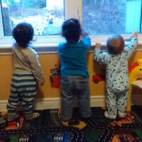 One spot available for Infant in Home Daycare in Bedford.