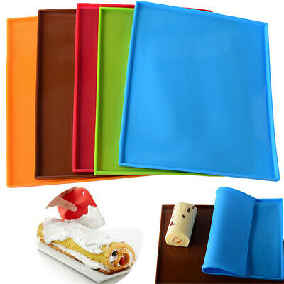 Silicone Non-stick Oven Swiss Roll Mat Cake Pad Baking Macaron Sheet Trays Sheet Non-stick Sheet
