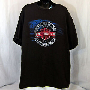 Harley T-Shirt Zips 45th Parallel Gaylord Mi Legendary Ride 2XL