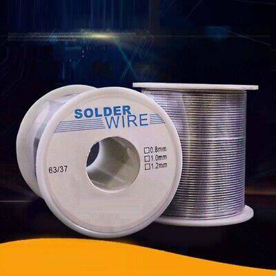 100g 0.8mm 6337 Tin Lead Solder Wire Rosin Core Soldering 2 Flux Reel Tube Lw