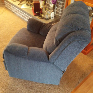 loveseat & recliner rocker