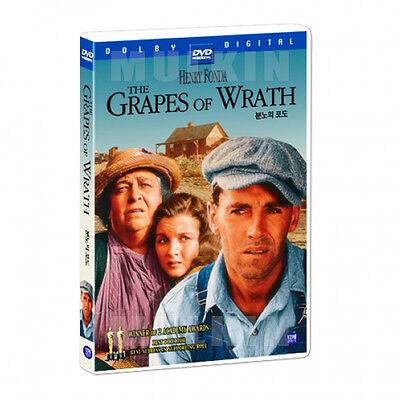 The Grapes of Wrath (1940) DVD - Henry Fonda (New *Sealed *All Region)