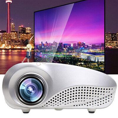 5000 lumens 1080p HD LCD LED Projector Home Cinema Theater TV VGA HDMI Video USB