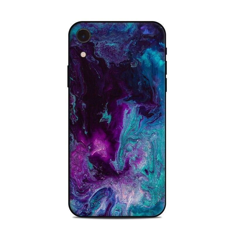 iPhone Xr Skin - Nebulosity by Jennifer Walsh Design - Sticker Decal