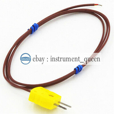 Thermocouple Wire Probetype K Replace Fluke 80pk-1 Length 1m -58500-50260