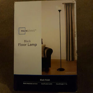 Brand new Black 71 in. floor lamp
