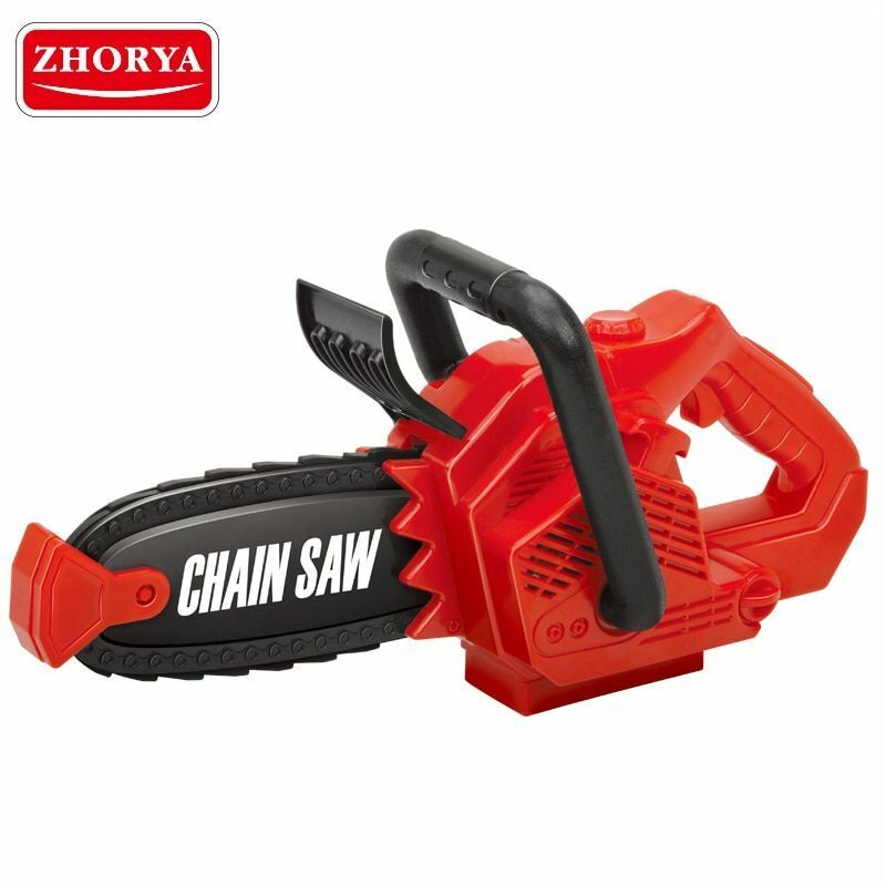 Simulation Toys Spinning Small Chainsaw with Sound Power Too
