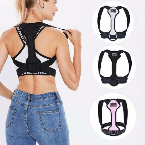 US Back Shoulder Support Posture Corrector Adjustable Brace