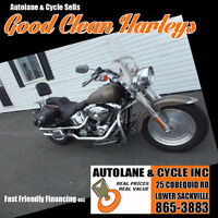 2004 Harley Davidson FATBOY Fuel Injected NICE EXTRAS Sharp Bedford Halifax Preview