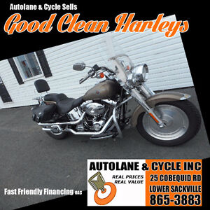 2004 Harley Davidson FATBOY Fuel Injected NICE EXTRAS Sharp