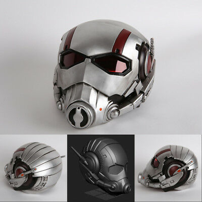Cool Halloween Decoration (Hot Cool Cosplay Movie Ant Man Helmet Halloween Party Mask Resin Gift)