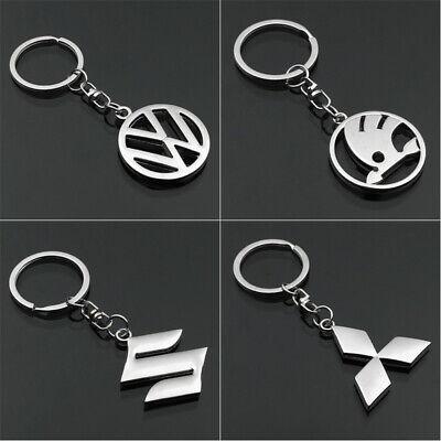 Auto Car Logo Keychain Metal Emblem Pendant Keyring Key Holder Best Small