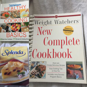 """WEIGHT WATCHERS"" Cook Books (3 avail) ""Healthy Cooking Basics $"