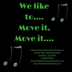 Removals & Storage - Family run, professional and fun! Call 01943 875954 for details.