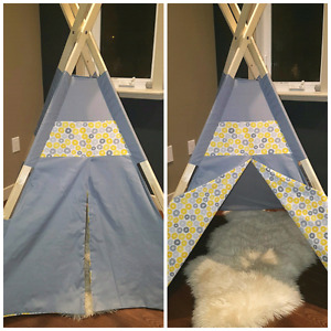 Childrens teepee style tent