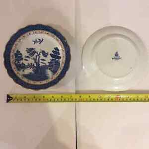 China, Real Old Willow, Booths, Plates London Ontario image 3