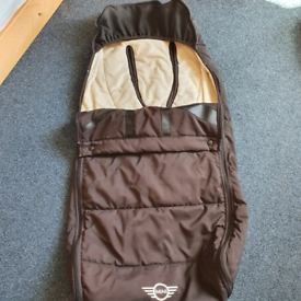 Easywalker MINI Footmuff Black.collection from SW9 9HN. REDUCED PRICE