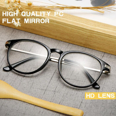 Classic Retro Clear Lens Glasses Eyewear Nerd Geek Eyeglass Designer (Geek Designer Glasses)