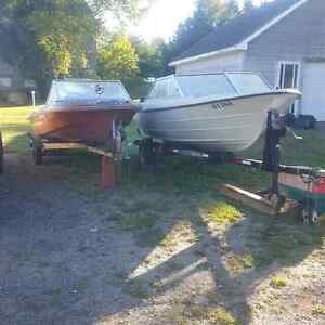 2 boats with motors and trailers $2000 FIRM