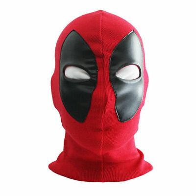 Costume Face Masks (Deadpool Masks Balaclava X-Men Halloween Costume Hood Cosplay Full Face)