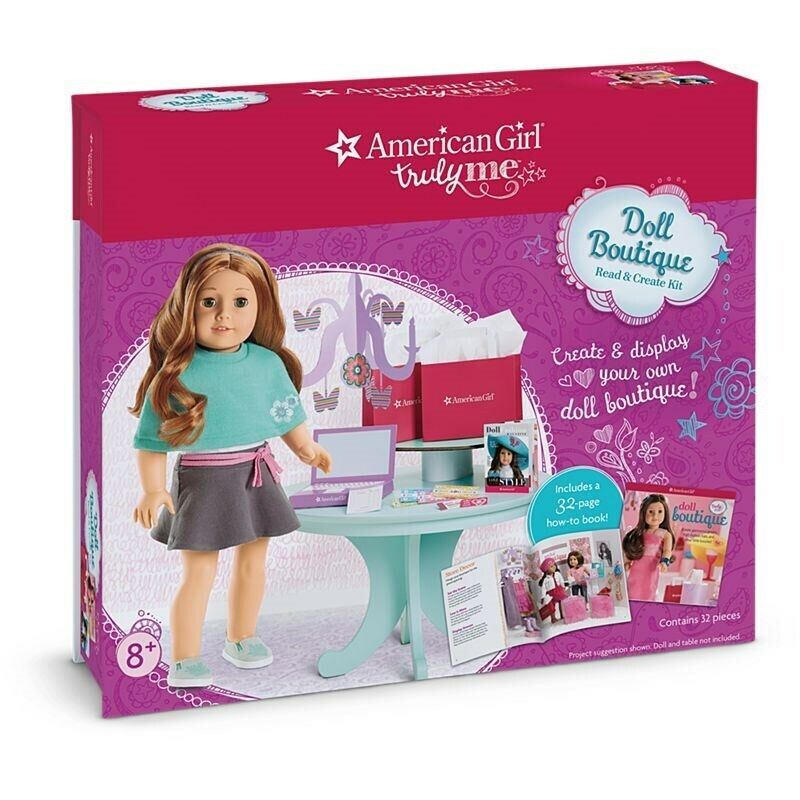 American Girl Truly Me Doll Boutique Read & Create Set