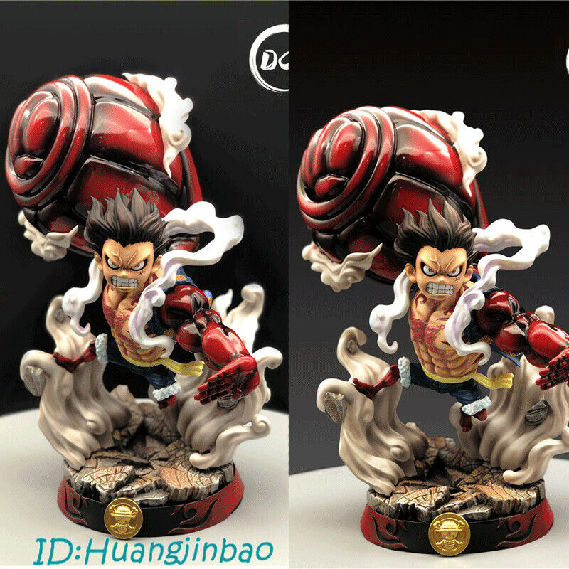 Monkey D Luffy PVC Model In Box Gear Forth Painted Super Large Painted Figure