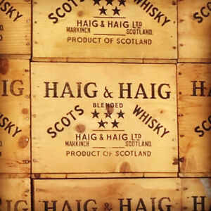 HAIG & HAIG Five Star Scotch Whisky Crates For Sale
