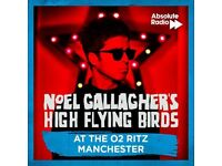 NOEL GALLAGHER @ MANCHESTER RITZ***ONE STANDING TICKET AVAILABLE***WEDNESDAY 18TH JULY