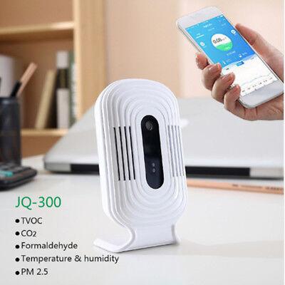Usb Wifi Air Quality Tester Smart Monitor Detector Pm2.5 Hchotvocco2 Analyzer