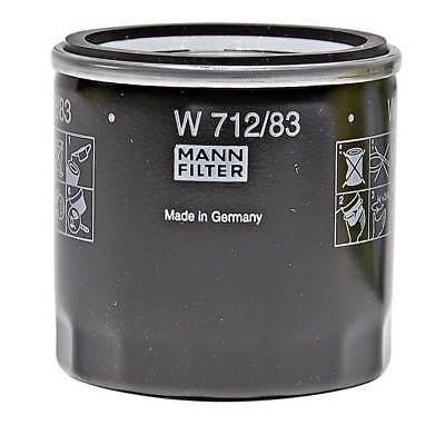 Fits Toyota Yaris Vitz 1.4 D-4D Mann Oil Filter Spin-On Type Performance Service