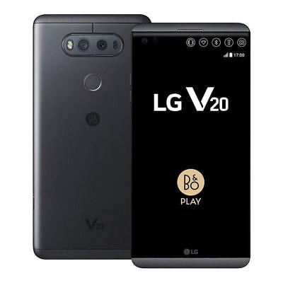 LG V20 64GB H910 AT&T GSM Unlocked 4G LTE 4GB RAM 16MP Titan / Gray Android USA