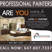 ✔️Affordable Painting Services⭐️100% Satisfaction!☎️647.807.7337
