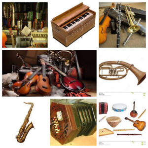 Musical Instruments Wanted for an Art Project