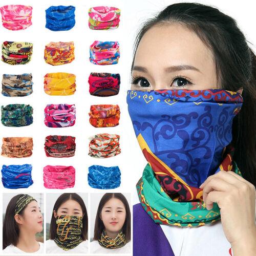 Tube Scarf Seamless Bandana Face Mask Sport Men Women Head N