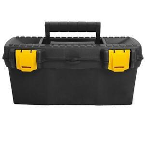 Werkzeugkoffer Werkzeugkasten Koffer Werkzeugkiste leer Werkzeug Box Angelkiste